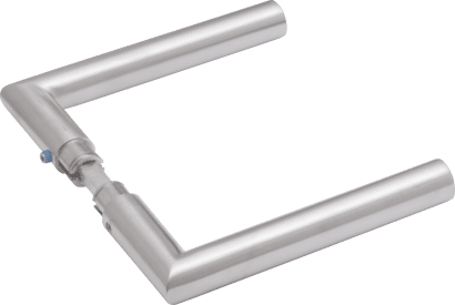 Drückerpaar Aluminium Linie 50