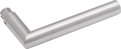 Drückerlochteil Aluminium Linie 50