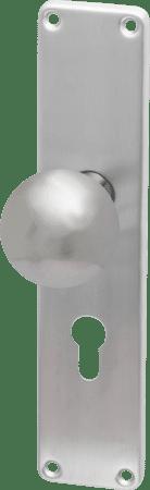 Innentür-Langschild-Wechselgarnitur kantig Linie 50